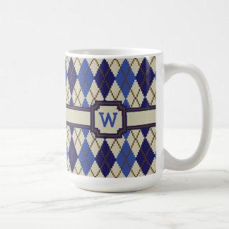 Blueberry Scone Argyle Mug