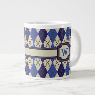 Blueberry Scone Argyle Specialty Mug