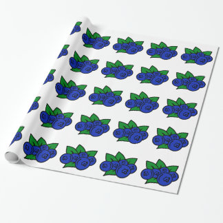 Blueberry Wrapping Paper