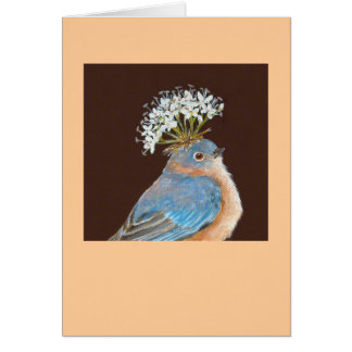 bluebird card (Hermione)