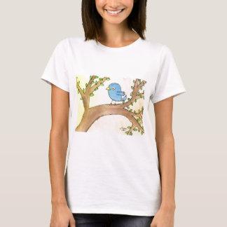 Bluebird in a Tree T-Shirt