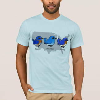 Bluebird Map T-Shirt