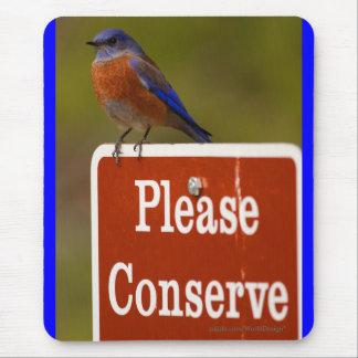 Bluebird Mouse Pad