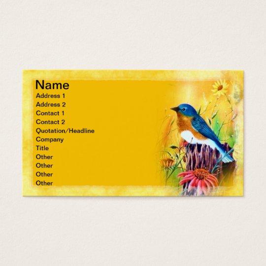 Bluebird Painting Business Cards