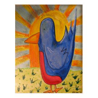 Bluebird Post Card