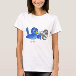 Bluebird with megaphone T-Shirt