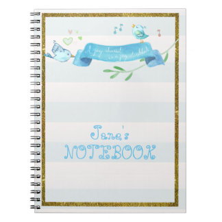 Bluebirds Joyful Journal