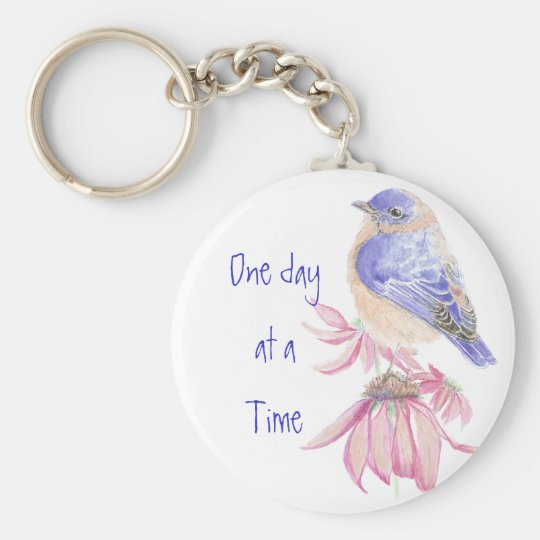 Bluebirds, Motivational, One day at a Time Quote