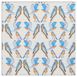 Bluebirds of Happiness Fabric
