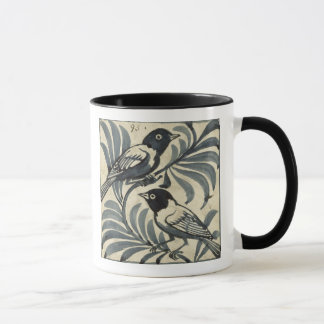 Bluebirds (w/c on paper) mug