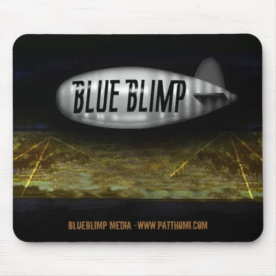 BlueBlimp Mouse Pad