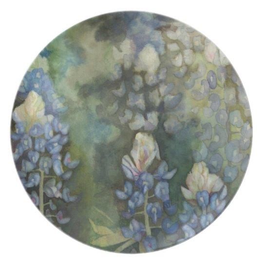 Bluebonnet Blessing plate