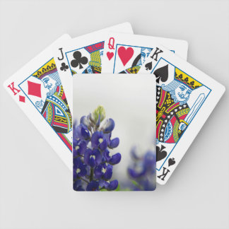 bluebonnet blue bicycle playing cards