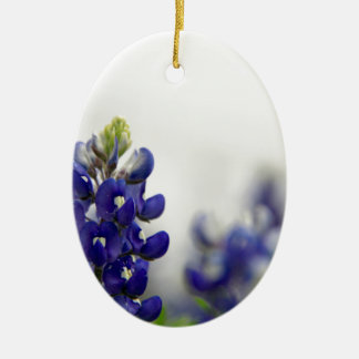 bluebonnet blue christmas ornament