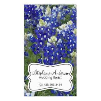 Bluebonnet Field Flowers Florist Business Card
