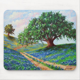 Bluebonnet Road Mouse Mat