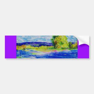 bluebonnet wildflowers bumper stickers