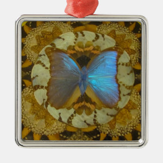 BlueButterfly Christmas Ornament