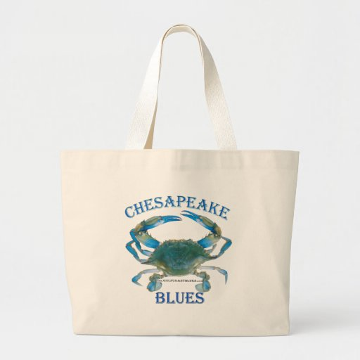 BlueCrab Collection Tote Bags