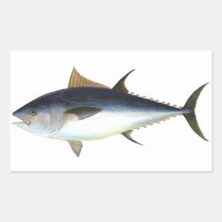 Bluefin Tuna illustration Rectangular Sticker