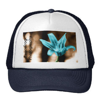 blueflower, Peacefrog Photography Mesh Hats