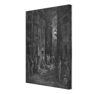 Bluegase-field Canvas Print