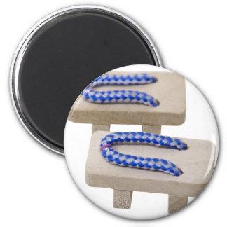 BlueGetaSandals042310 Fridge Magnet