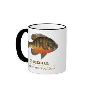 Bluegill Bream Fishing Ringer Mug