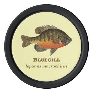 Bluegill, Bream Fishing Set Of Poker Chips