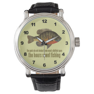 Bluegill / Bream Fishing Wrist Watch