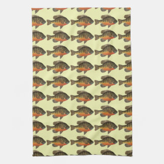 Bluegill Bream Kitchen Towel