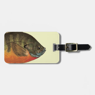 Bluegill Bream Luggage Tag