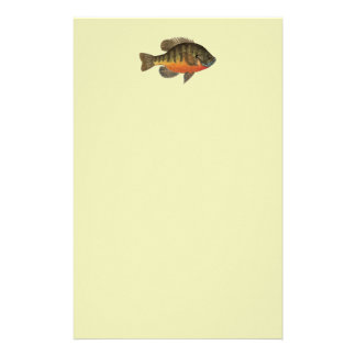 Bluegill Bream Stationery