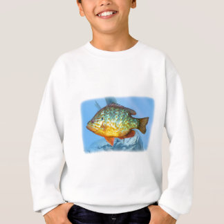 bluegill fish sweatshirt
