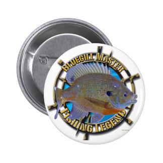Bluegill fishing legend pins