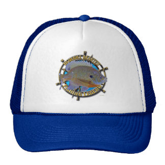 Bluegill fishing legend cap