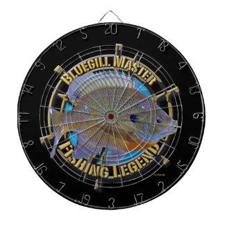 Bluegill fishing legend dart board