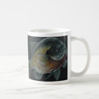 Bluegill Basic White Mug