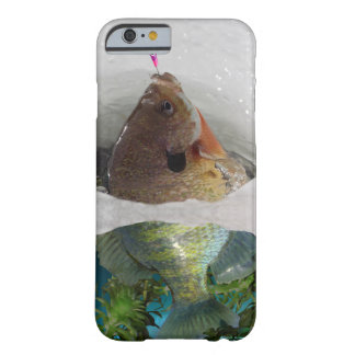 Bluegill on Ice Barely There iPhone 6 Case