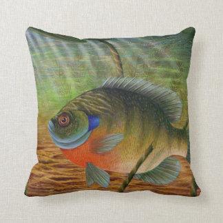 Bluegill Throw Pillow