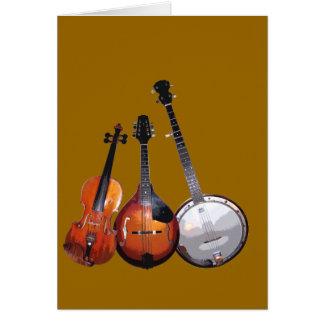 Bluegrass Band Filtered Card