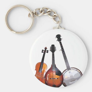 Bluegrass Band Key Ring