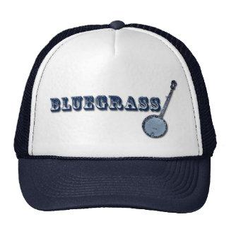 Bluegrass Banjo Cap Mesh Hat