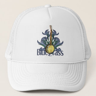 Bluegrass Banjo Design Caps