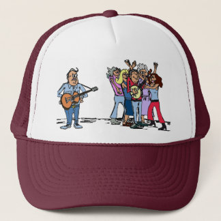 Bluegrass Banjo Humor Trucker Hat