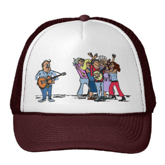 Bluegrass Banjo Humor Trucker Hats