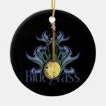 Bluegrass Banjo Personalised Ornament