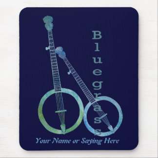 Bluegrass Banjos Mouse Mat