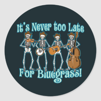 Bluegrass Beyond Classic Round Sticker