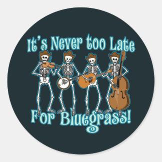 Bluegrass Beyond Round Sticker